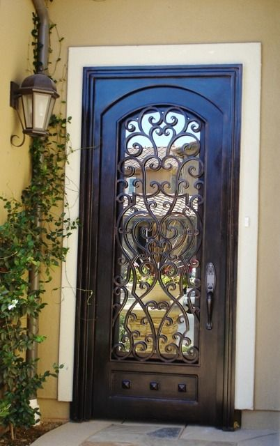 23 Metal Front Doors That Are Really Inspiring Shelterness