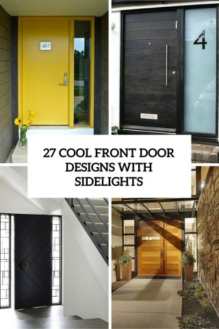 27 Cool Front Door Designs With Sidelights   Shelterness cool front door designs with sidelights cover