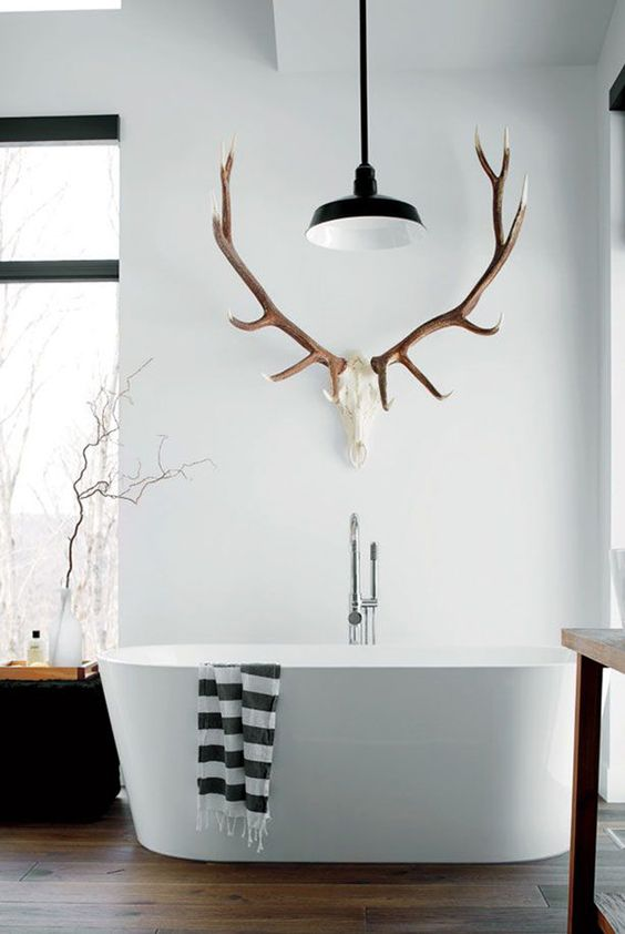 Golden Wall Decor Antlers