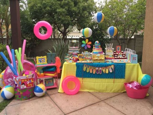 Under Sea Theme Party