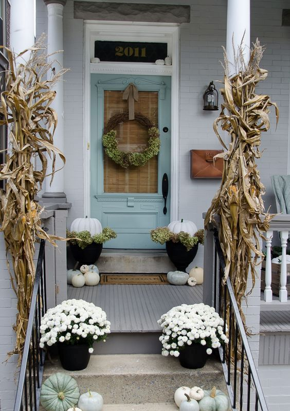Rustic Chic 27 Corn Husks Dcor Ideas For Fall Shelterness