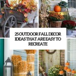 25 Outdoor Fall Decor Ideas That Are Easy To Recreate Shelterness