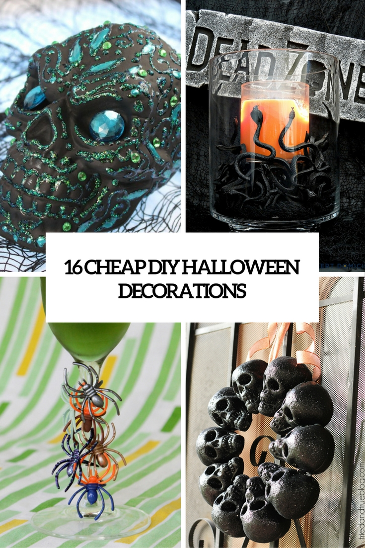 16 Cheap Diy Halloween Decorations That Won T Break The Bank Shelterness