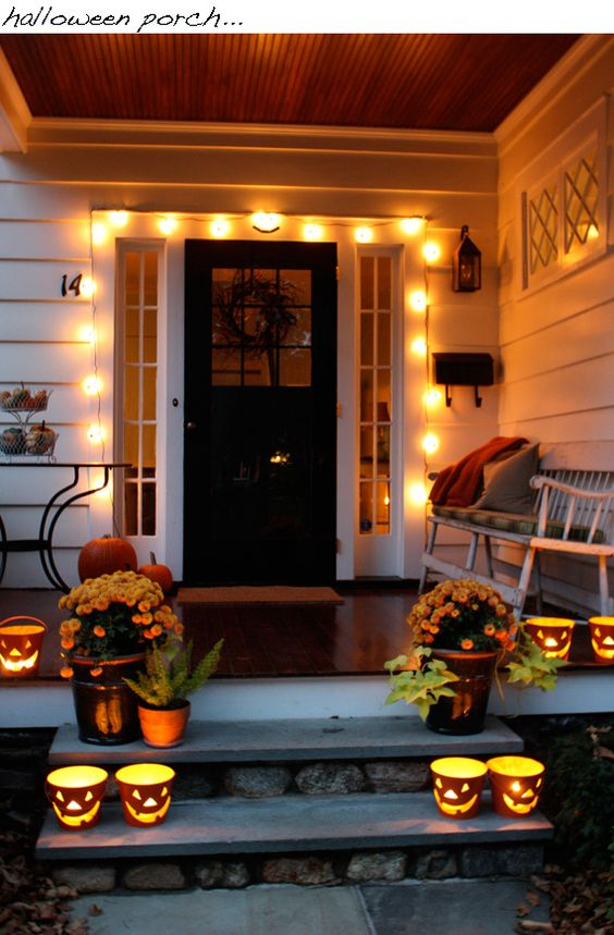 26 Cozy Fall Dcor Ideas With Lights Shelterness