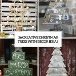 26 Creative Pallet Christmas Trees With Decor Ideas Shelterness