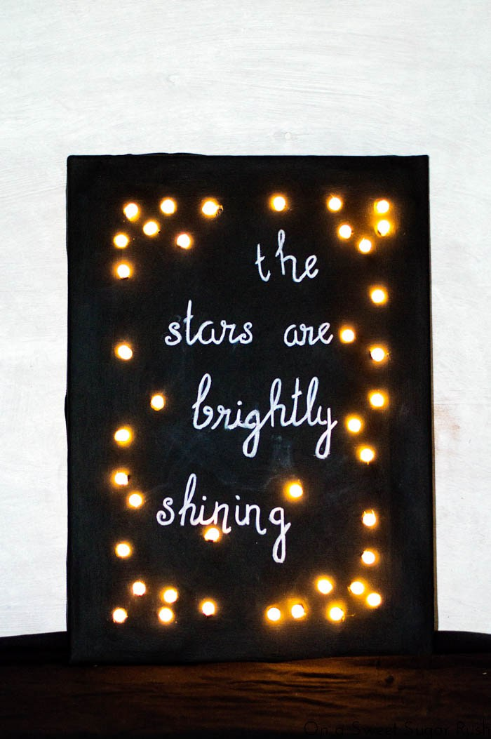 14 Cute DIY Chalkboard Christmas Crafts Shelterness