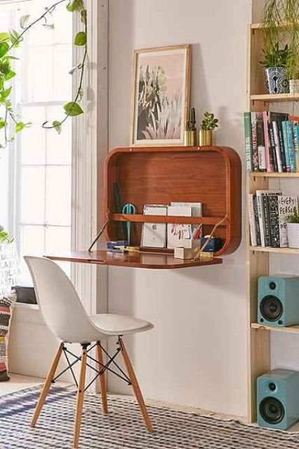 Small Wooden Office Desk