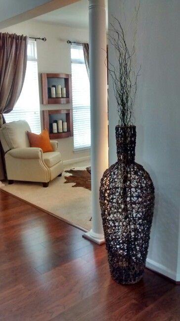 Green Ceramic Hollow Flowers Vase Home Decor Large Floor Vases For Wedding Decoration Handicraft Porcelain