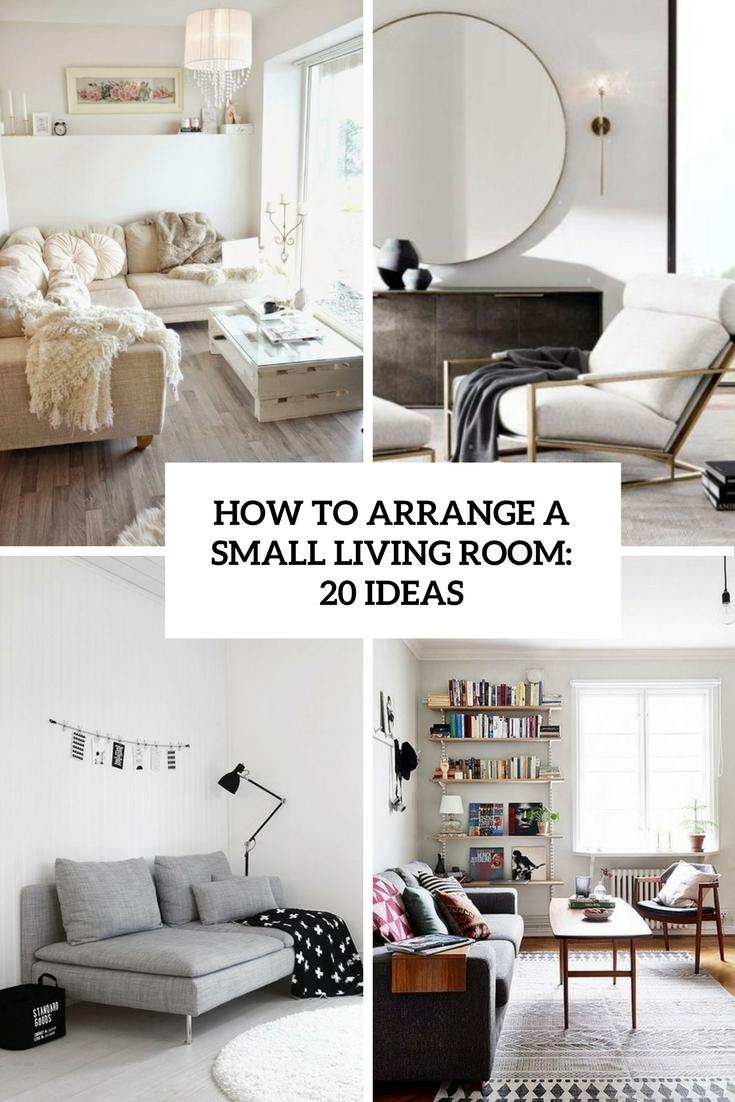 Apartment Furniture Arrangement Ideas
