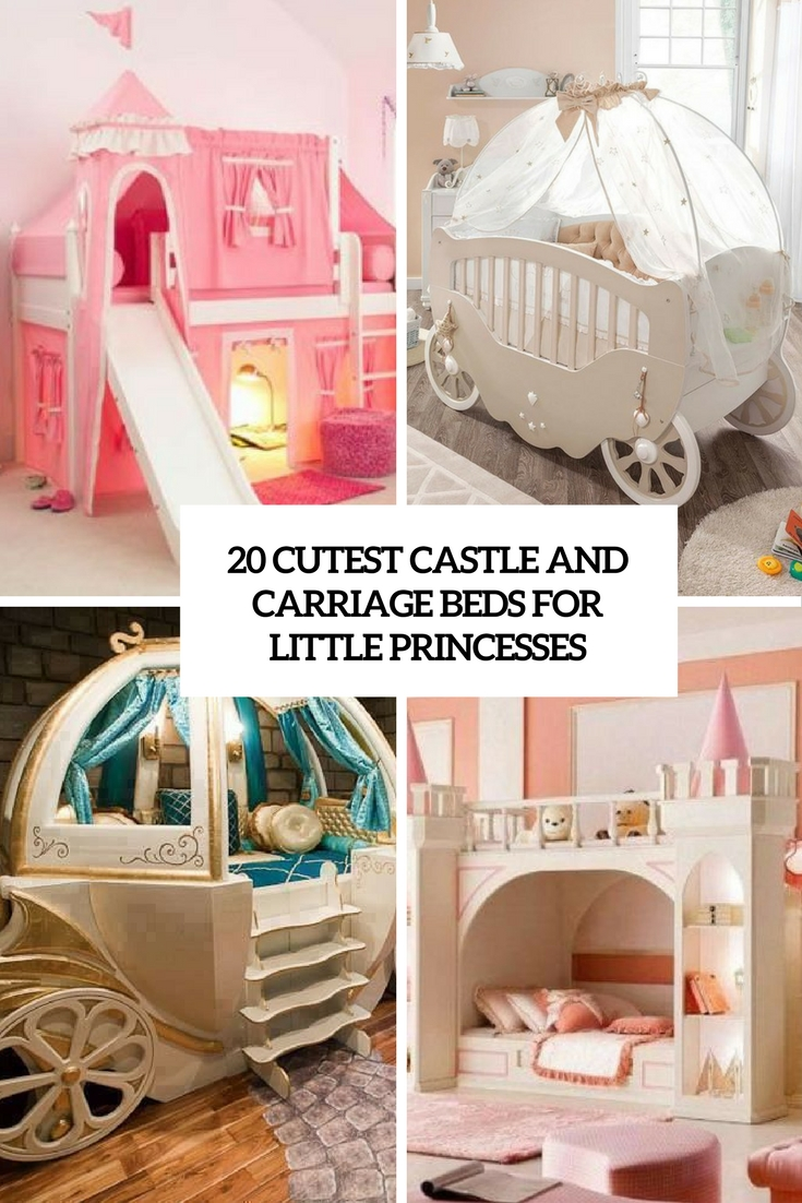 20 Cutest Castle And Carriage Beds For Little Princesses Shelterness