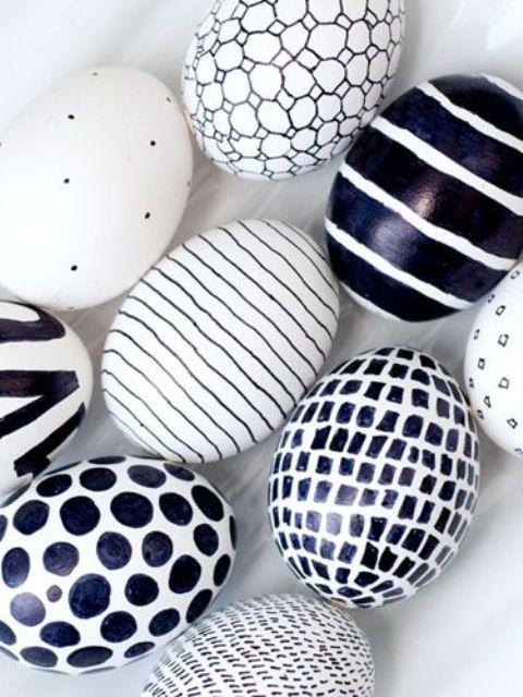 Modern Easter Decor Diy Egg Planters