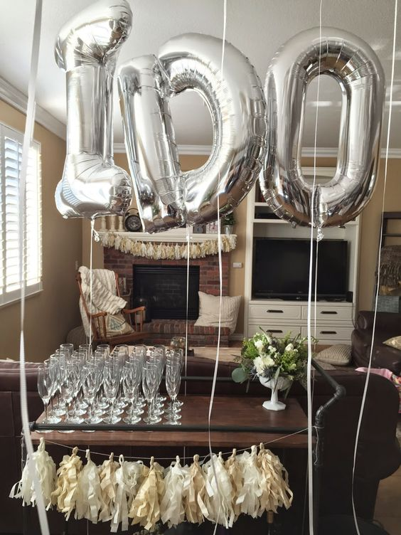 20 Engagement Party Balloon Dcor Ideas To Try Shelterness