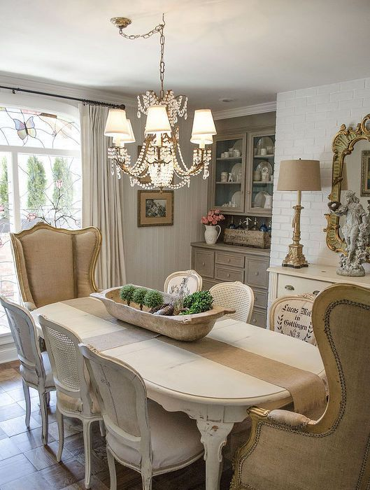 15 French Country Dining Space D 233 Cor Ideas Shelterness