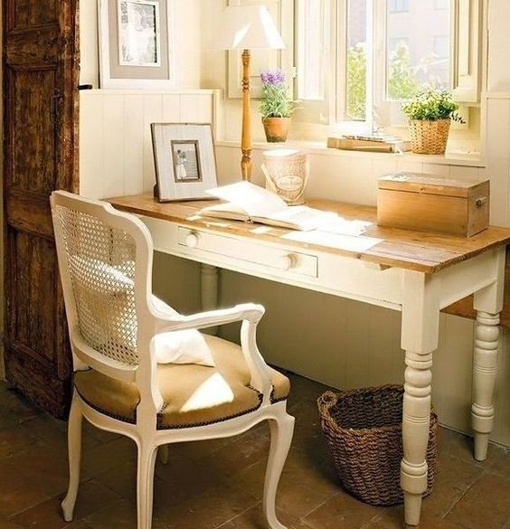 French Country Home Office Ideas