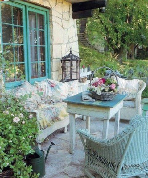 20 Chic French Country Terrace Dcor Ideas Shelterness