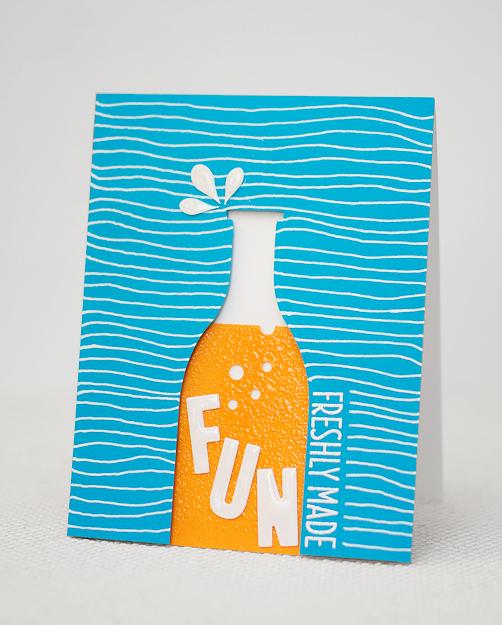 DIY fun soft drink card (via https:)