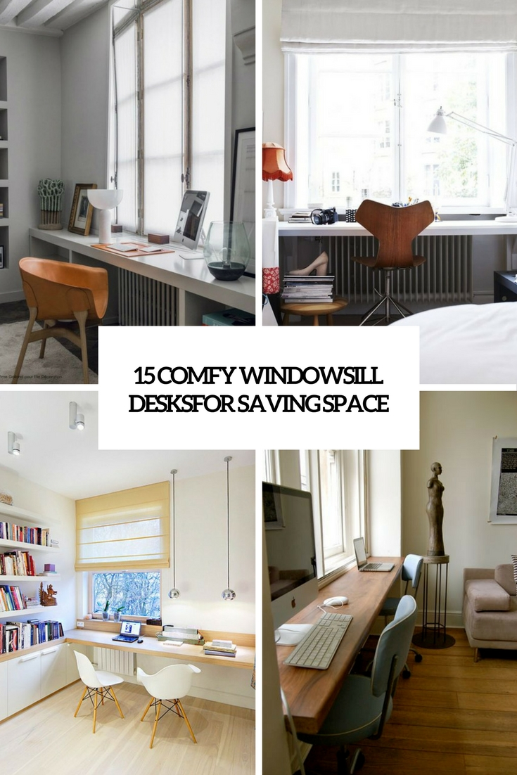 15 Comfy Windowsill Desks For Saving Space Shelterness
