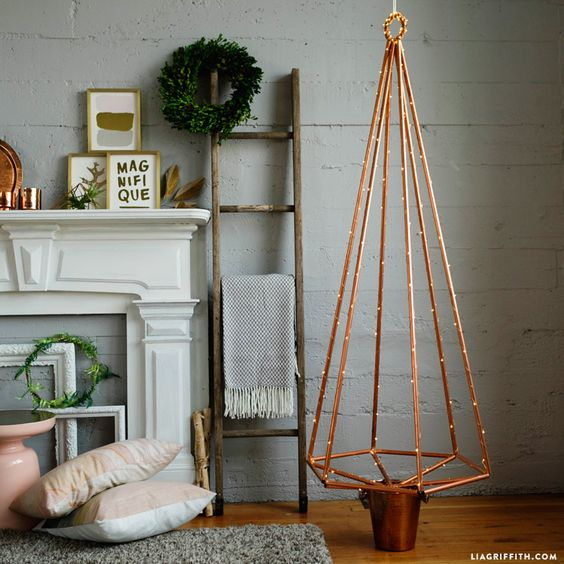 15 Eye Catchy And Bold Industrial Christmas Trees