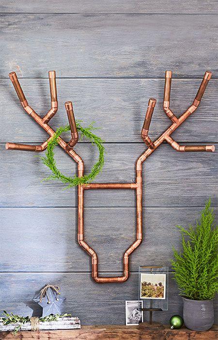 15 Chic Copper Christmas Decor Ideas Shelterness