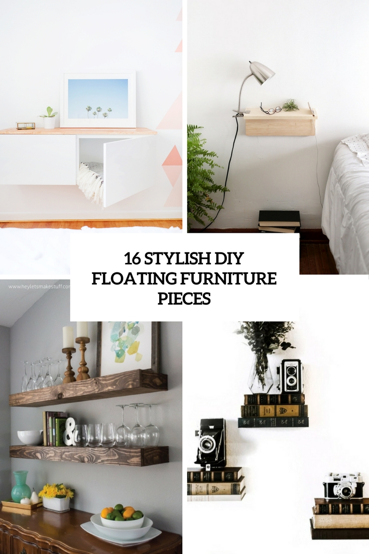 Diy Floating Nightstand Archives Shelterness