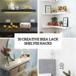 30 Creative Ikea Lack Shelves Hacks Shelterness