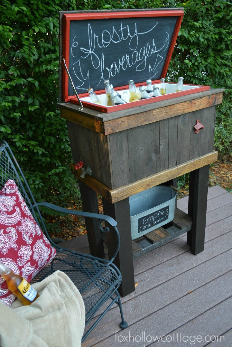 8 diy drink coolers for your outdoor