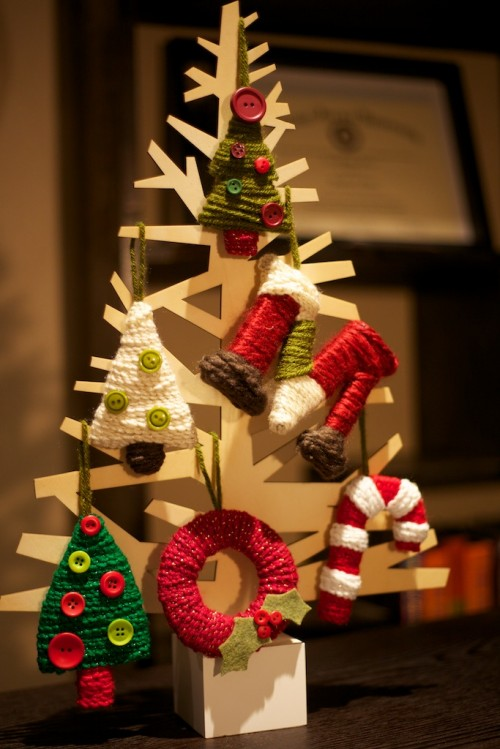 5 DIY Cardboard Christmas Trees Shelterness