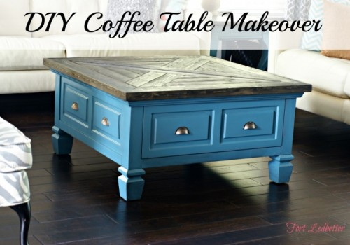 15 awesome diy coffee table makeovers