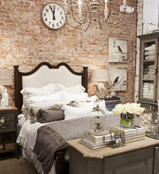 Picture Of Brick Wall Behind Your Bed