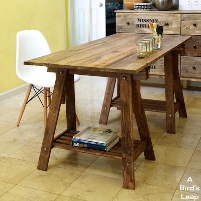 12 cool diy rustic furniture pieces