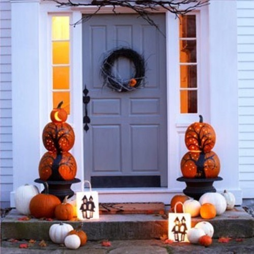 Fall Porch Decorating Ideas 2