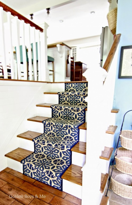 10 DIY Creative And Fun Stair Runners For Any Home