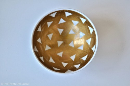 6 DIY Geometric Jewelry Dishes Trays And Bowls Shelterness