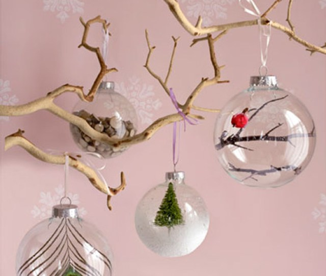 Diy Glass Christmas Tree Ornaments