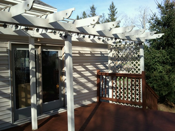 7 Easy To Make DIY Outdoor Pergolas Shelterness