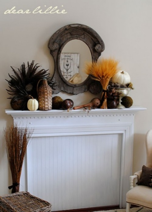 87 Exciting Fall Mantel Dcor Ideas Shelterness