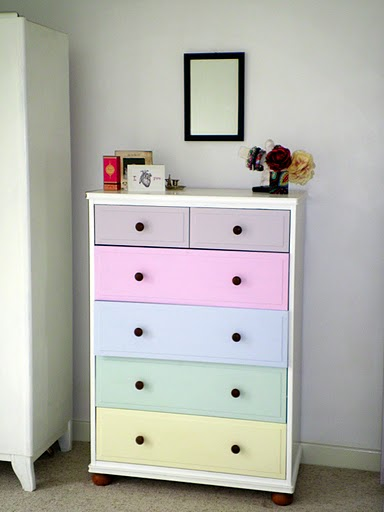 Modern White Chest Drawers