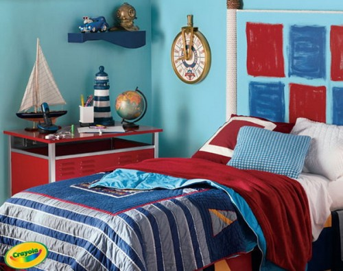 5 Navy Themed Boys Bedrooms To Inspire You Shelterness