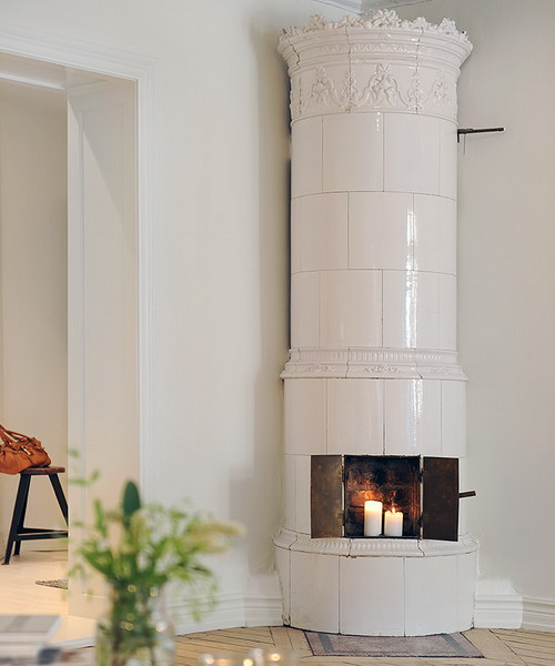 35 Real Life Scandinavian Fireplaces Shelterness