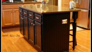 14 Simple Homemade Kitchen Islands Shelterness