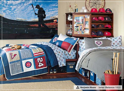 5 Sport Themed Boys Bedrooms To Inspire You