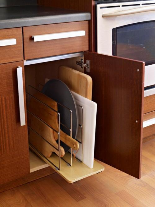 5 Creative Ideas To Organize Cutting Board Storage