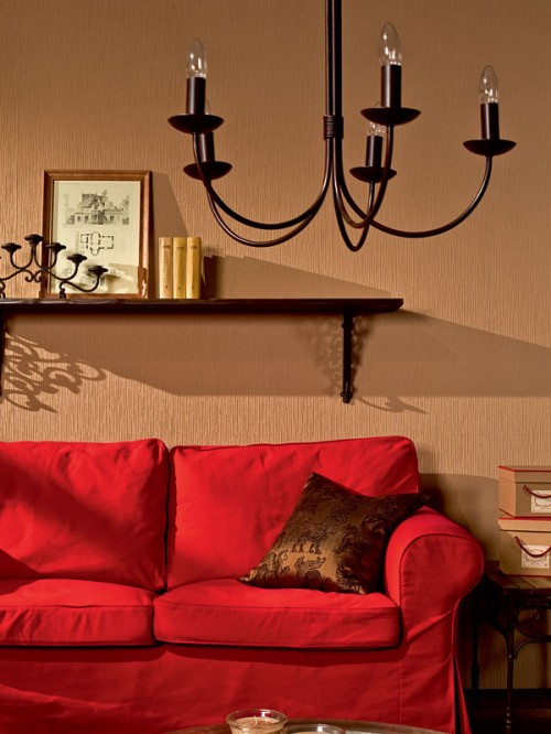 Warm And Very Cozy Living Room Design Shelterness