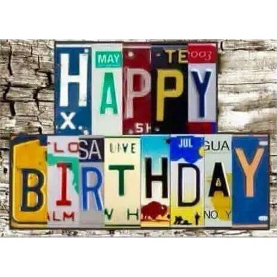 Categorised Birthday Messages For Quick Easy Selection Yellow Octopus