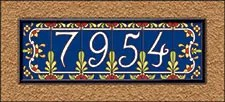address tile numbers and tile letters