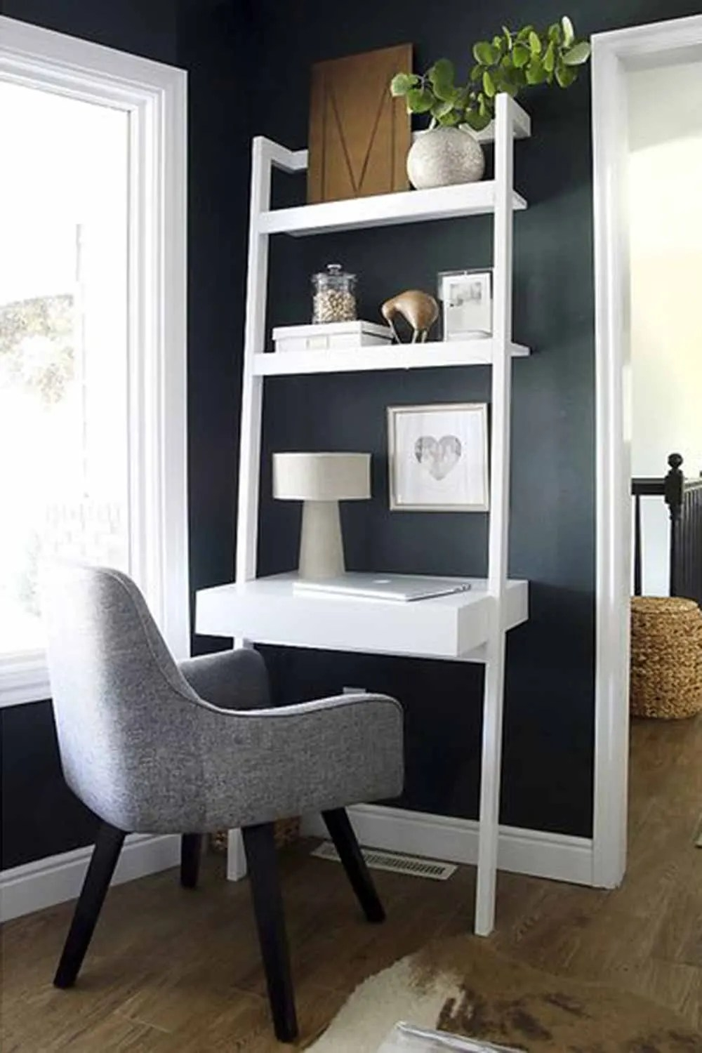 Space Saving Furniture 5 Ladder Desks Perfect For Small Spaces   Ladder Design For Small Space   Stairway   Glass   Modern   Two Story House Stair   Limited Space