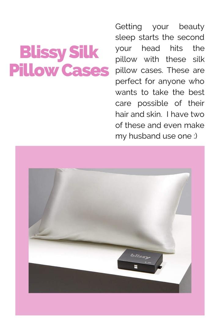 blissy 22 momme silk pillowcase king bedding