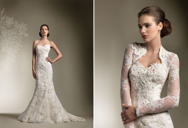 Western Style Lace Wedding Dresses On Sale