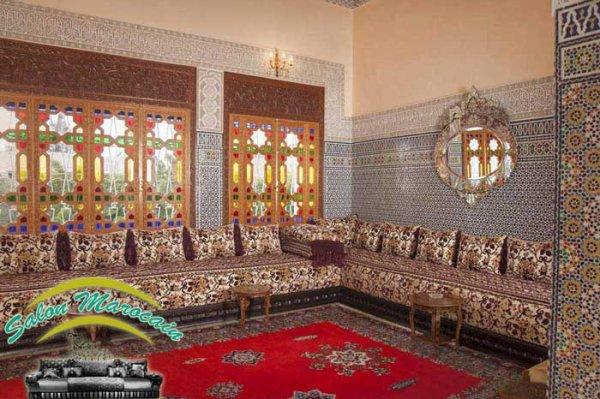 salon marocain traditionnel