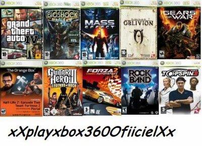 Classement Des Meilleurs Jeux Xbox 360 Xb0x 360